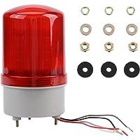 1Pc AC220V Rojo LED de Advertencia de Emergencia