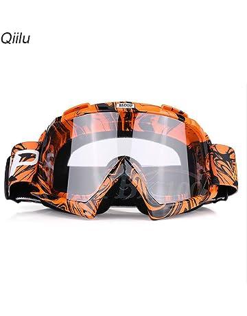 e380648853eff2 Qiilu Lunettes de Protection de Yeux Visage Anti-UV Anti-Brouillard  Anti-Sable