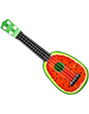 TOPJIN Kids Creative Educational Small Guitar Ukulele Musical Instrument Toys