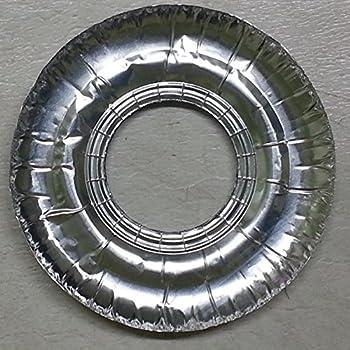 Amazon Com 100 Pc Aluminum Foil Round Stove Gas Burner