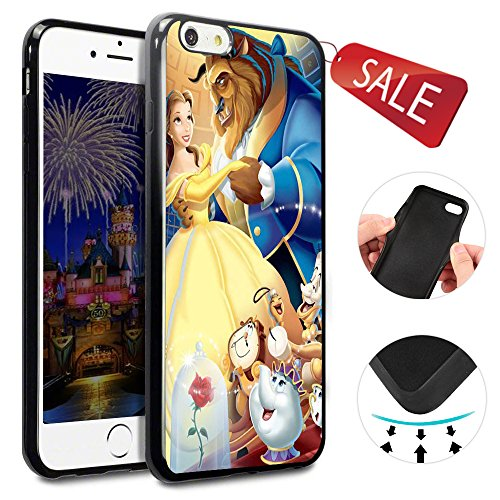 Price comparison product image Onelee - Beauty and The Beast iPhone 6 Case & Cover - iPhone 6 Case - Black 4