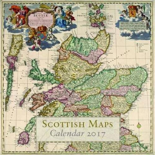 Scottish Maps Calendar 2017 by National Library of Scotland