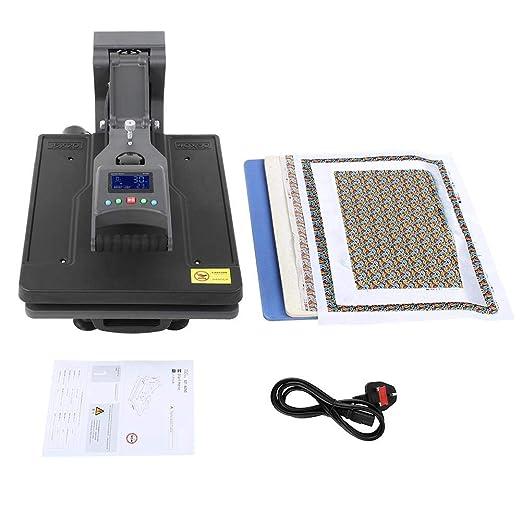 Máquina de prensado de calor de camiseta de ahorro de mano de obra, Máquina de prensado de calor de camiseta manual digital hidráulica de alta presión de 40 * 50 cm, dos