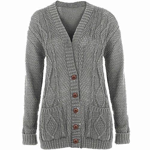 toller Wert gut online zu verkaufen Be Jealous - Damen Strickjacke Grob Gestrickt - M/L (EU 40 ...