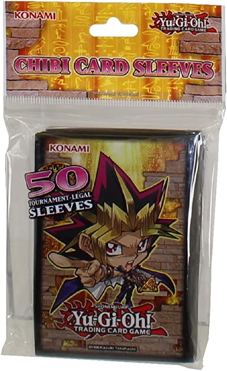 YUGIOH Golden Duelist Card Sleeves ~ 50 Tournament Legal Sleeves