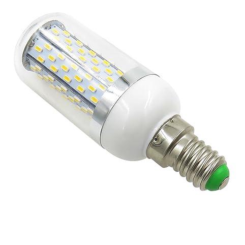 Pack of 10, E14 LED Bulb 110V 120V 220V 230V 7W 760 Lumens 120PCS ...