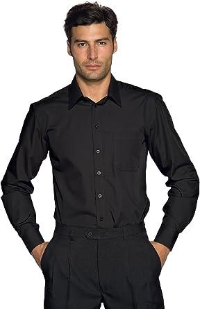 Isacco-Camisa para Hombre, diseño de Cartagena, Color Negro ...