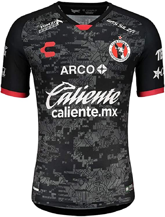 NWT Charly Club Tijuana Xoloitzcuintles de Caliente Xolos Home Jersey 18//19