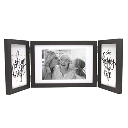 Amazon.com - Afuly Three Picture Frame 4x6 and 5x7 Black Collage ...