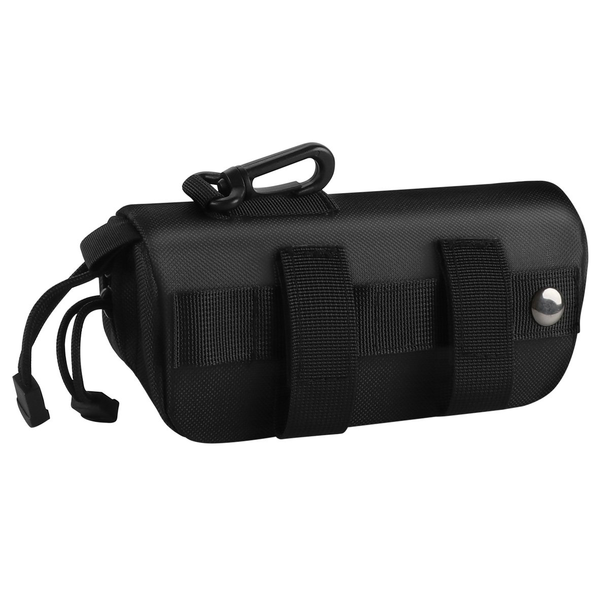 xhorizon SR Tactical Molle Sunglasses Case Outdoor Portable Shockproof 1000D Nylon Hard Clamshell Carrying Glasses Case by xhorizon