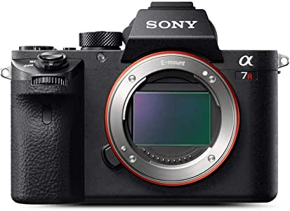 Sony Alpha a7R II Body Only, Full-Frame Mirrorless Camera, Black