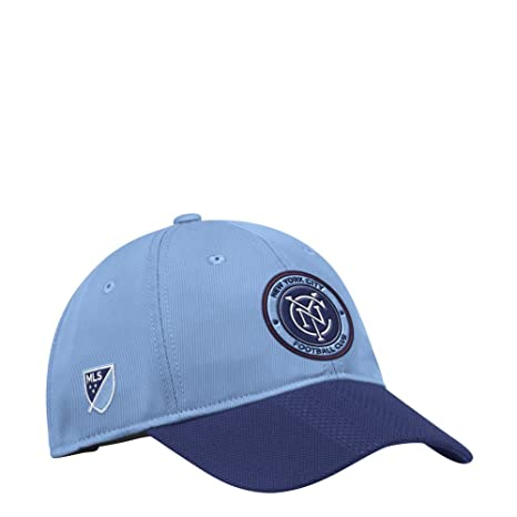 Amazon.com   adidas New York City FC Hat Authentic Adjustable Slouch ... 5a92c5f7fd2