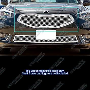 Fits 2014-2016 Kia Cadenza Upper Main Upper Billet Grille Inserts