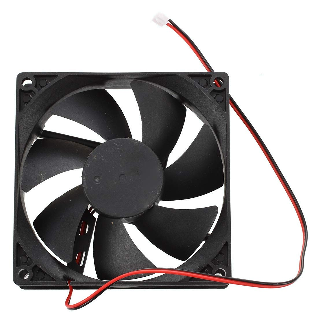 Gaoominy 90mm x 25mm DC 12V Ventilador de enfriamiento de 2 Pines para Caja de computador Enfriador de CPU
