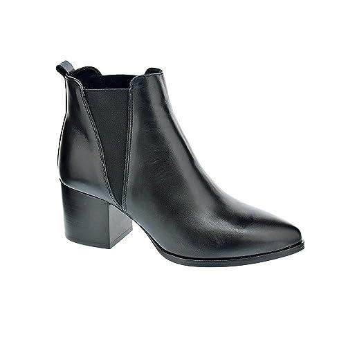 Alpe 30311405 - Botines Mujer Negro Talla 36: Amazon.es: Zapatos y complementos