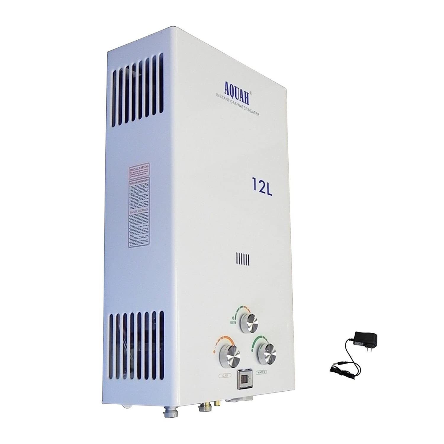 Whole House Water Heater Aquah Indoor Natual Gas Tankless Water Heater 12l 32 Gpm
