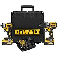 Dewalt 20-Volt MAX Lithium-Ion Cordless Brushless Combo Kit