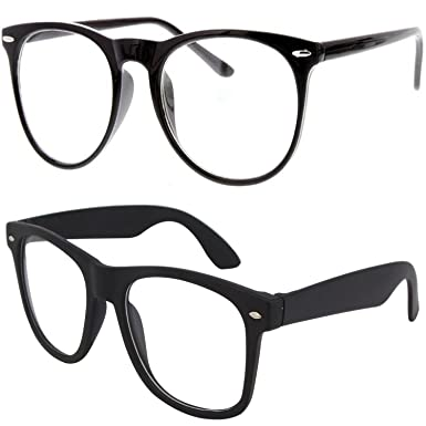 051d2a80d6 Y S Round Cateye Women s Men s Boy s Girl s Spectacle Frame  (Clear-Cateye-Selfy-Cmbo-002