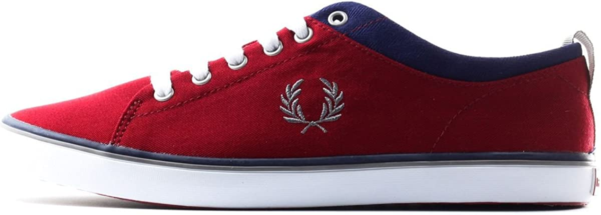 Fred Perry Hallam Twill 10 US Rich Red