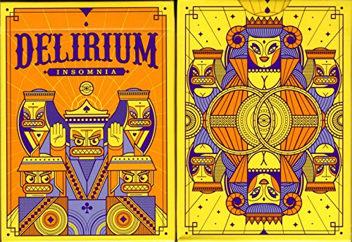 Thirdway Industries Delirium Insomnia Playing Cards Poker Size Deck USPCC Custom Limited Edition