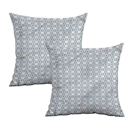 (Khaki home Geometric Square Personalized Pillowcase Optic Nested Squares Square Funny Pillowcase Cushion Cases Pillowcases for Sofa Bedroom Car W 14