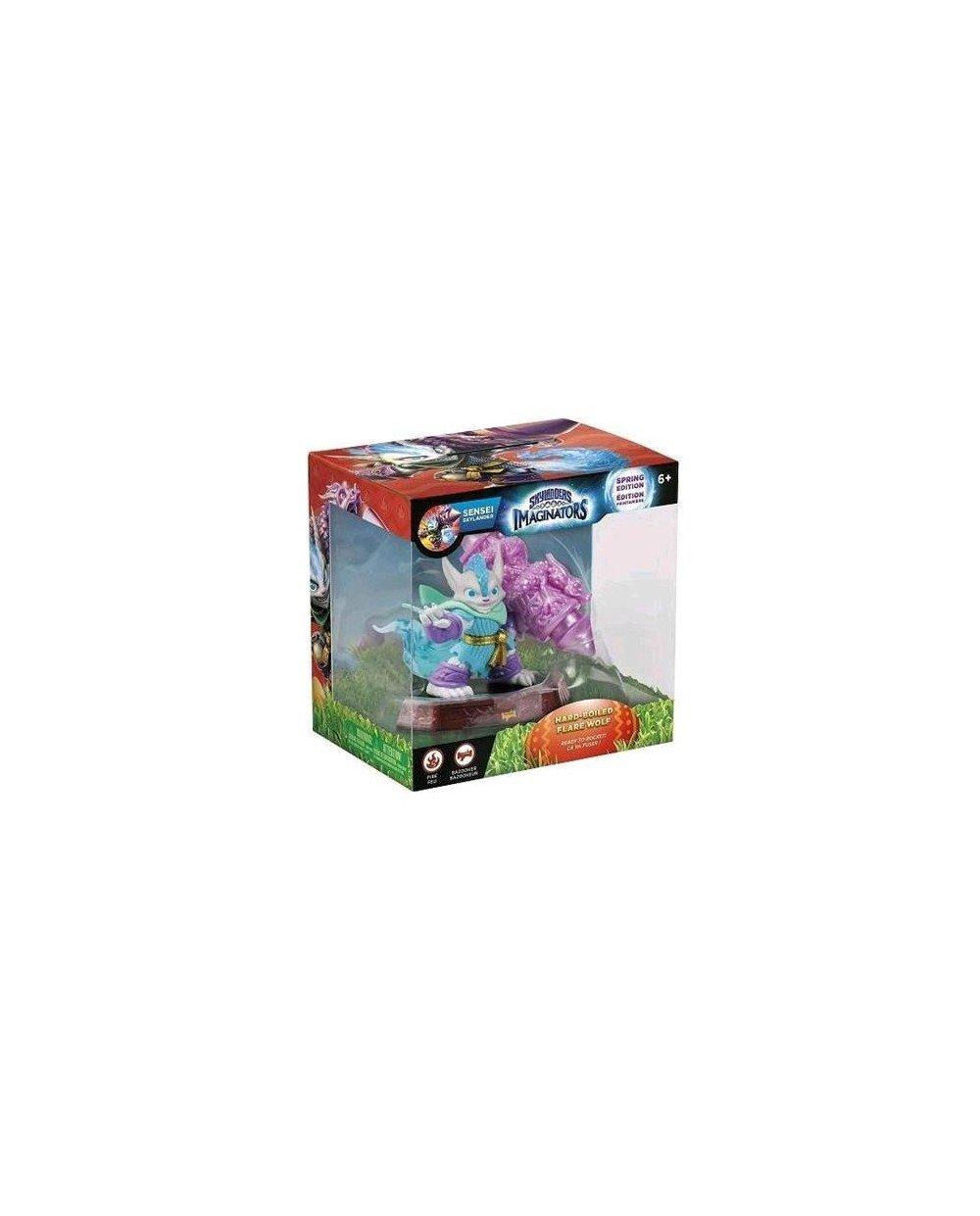 SKYLANDERS IMAGINATORS SENSEI FLARE WOLF 하드 삶은(PS4 | PS3 | XBOX360 | XBOX ONE | NINTENDO WII U)