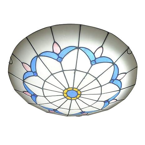 Clásico Estilo Tiffany Vaso Pantalla De Lámpara Lámpara De ...