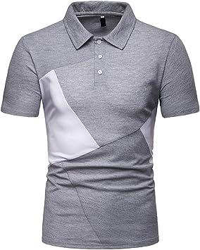 Camisa para Hombre Camiseta Camiseta Bonita y Cómoda para Verano Camisa Hombre Shirt de Manga Corta Camiseta Camisa Negra Polos Hombre Camisa Rayas Hombre Crop Top Camisetas largas Hombre Jodier: Amazon.es: Deportes
