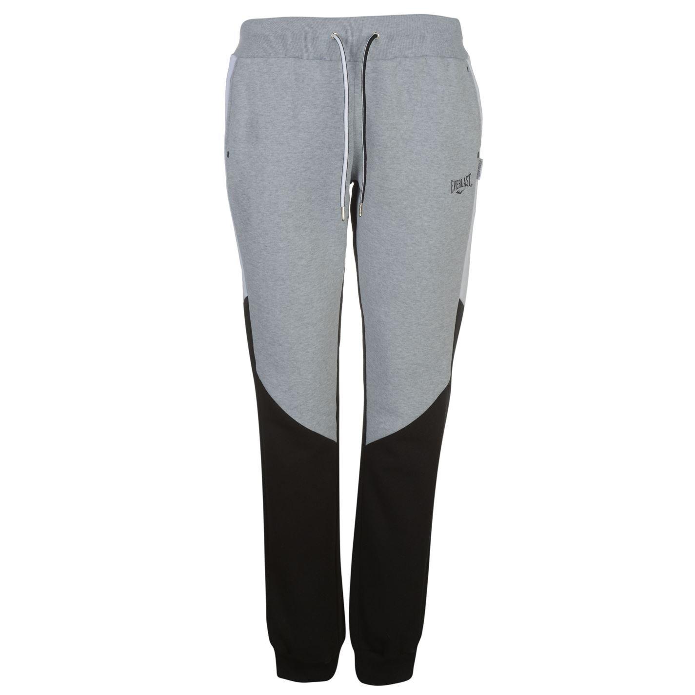 Everlast Mujer Pantalones Polar Gris Marga/Negro XL (EU 44/UK 16 ...