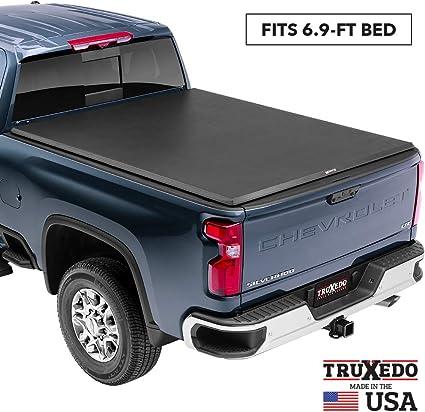 TruXedo 272201 TruXport Tonneau Cover 14-18 Sierra//Silverado 1500 15 HD 8/' Bed