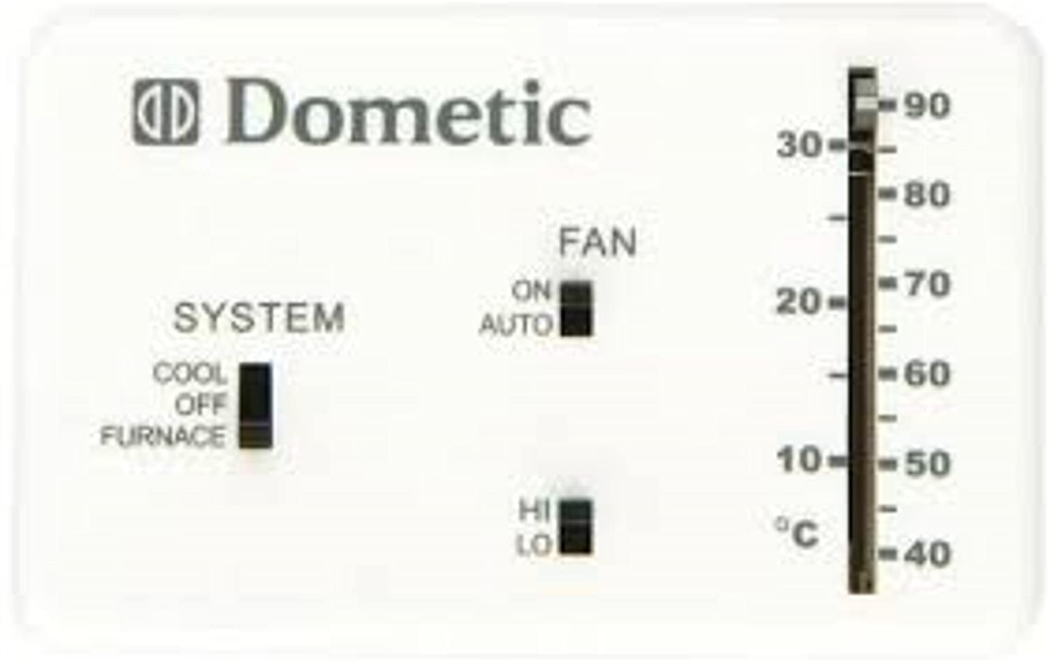 Amazon Com Dometic 3106995 032 Rv Analog Thermostat Cool Only Furnace White Automotive