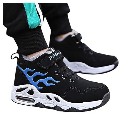 Moda Zapatos de niño Zapatillas Niño,ZARLLE Niños Lace Up Zapatos ...