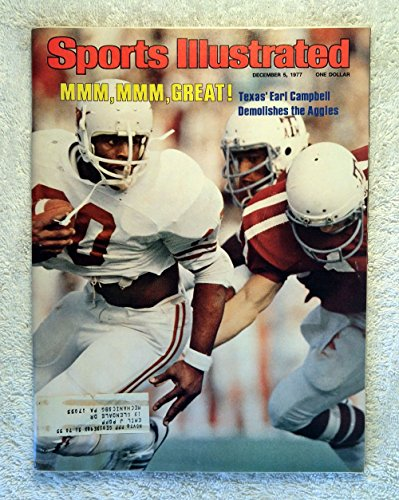s Longhorns - Sports Illustrated - December 5, 1977 - College Football - SI (1977 Sports Illustrated Magazine)