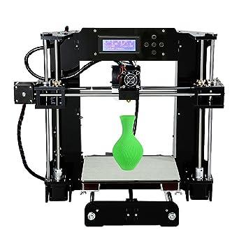 Anet A6 3d impresora alta precisión nivelación automática pantalla ...