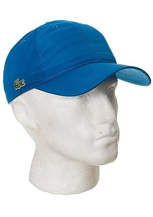1f4b1dc3d72 Lacoste RK1402 Baseball Cap FY8 Laser Blue ALL Blue  Amazon.co.uk ...