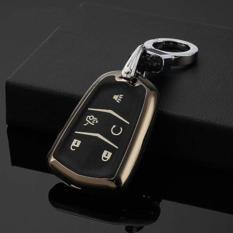 Amazon.com: Ontto - Carcasa de aleación de zinc para llaves ...
