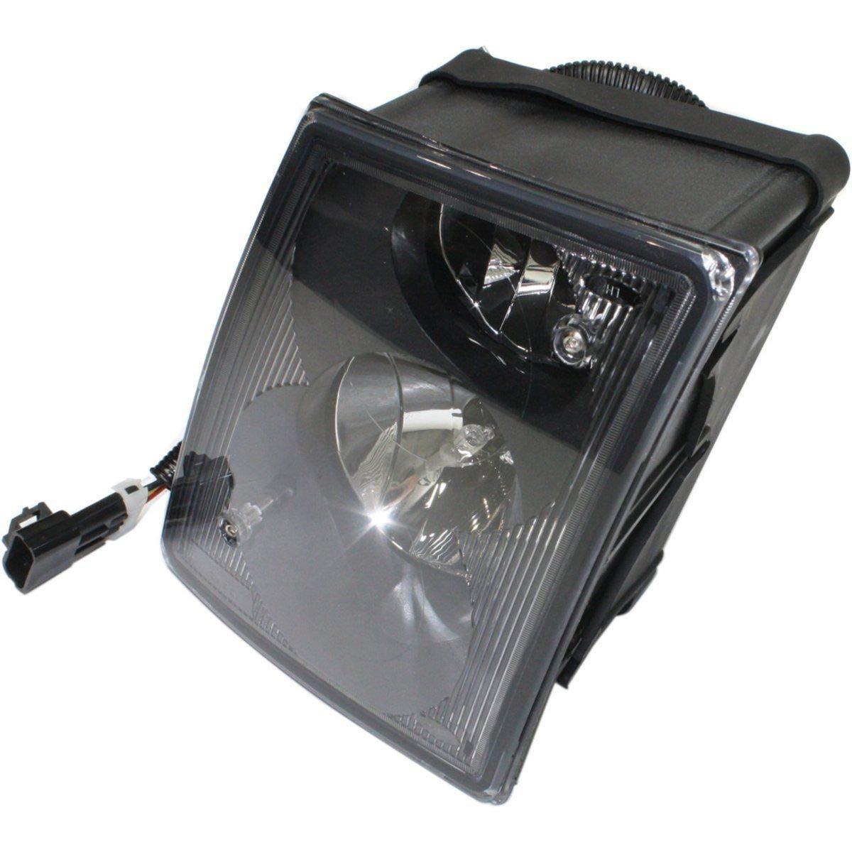 Clear Lens Fog Light For 2003-11 Volvo VNL RH w// DRL//Non-Protruding Lens//Bulb