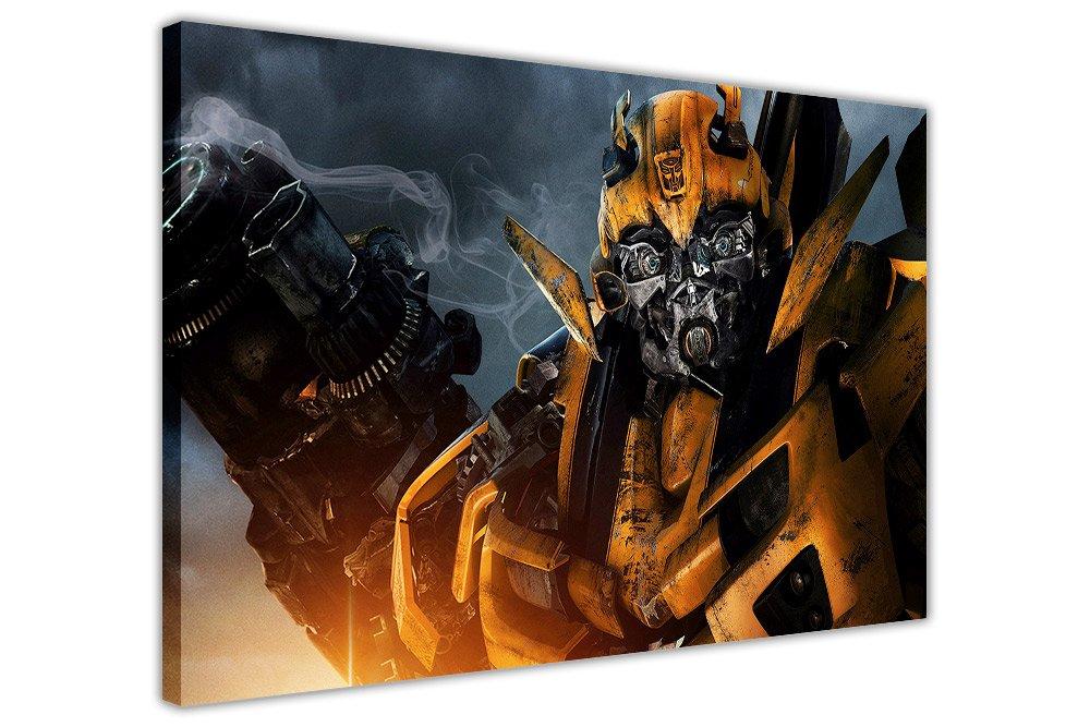 Transformers Film Bumblebee Leinwandbilder Home Dekoration Prints, canvas holz, 9- A0 - 40