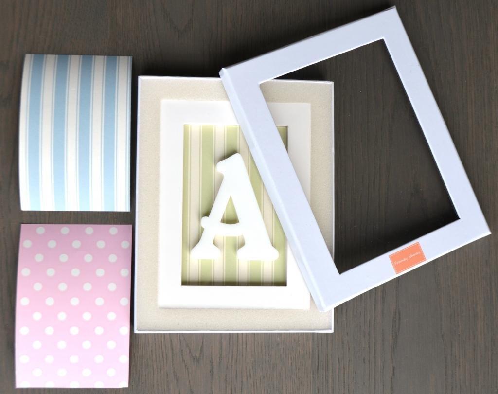 Buchstabe P - Framey Namey - personalisierte, gerahmte Buchstaben ...