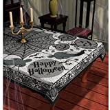 Amscan - Midnight Lace Fabric Tablecover