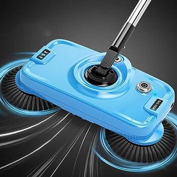 Fregonas Barrido a Mano Artefacto de Fregar Una máquina doméstica Robot electrico aspiradora Limpiador de Pisos Productos y Utensilios de Limpieza: ...