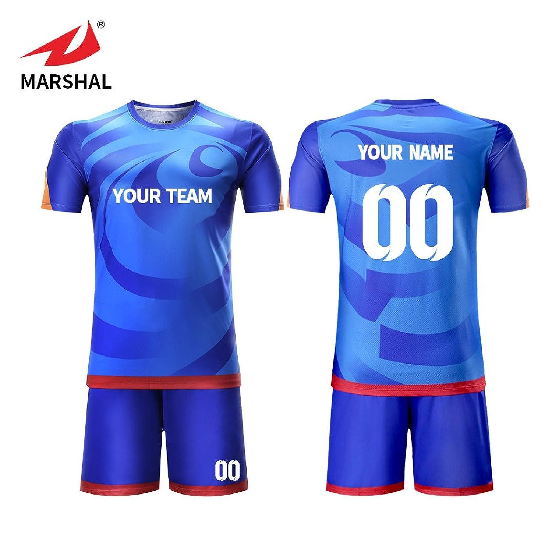 the best attitude e3950 f2804 Amazon.com: Marshal Jersey Custom Soccer jerseys ...
