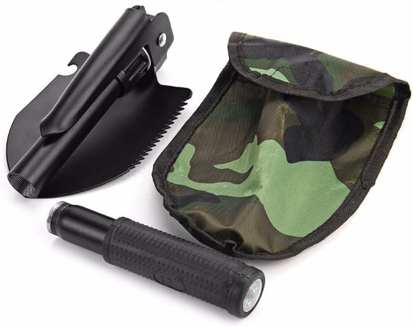 Meanhoo Military Folding Shovel Survival Spade Emergency Garden Camping Outdoor Tool