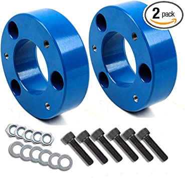 Front Leveling Lift Kit,SCITOO Strut Spacers 2 Front Leveling Lift Kit fit 2004-2017 Ford F150 2WD 4WD SCITOO Strut Spacers 2 Front Leveling Lift Kit fit 2004-2017 Ford F150 2WD 4WD