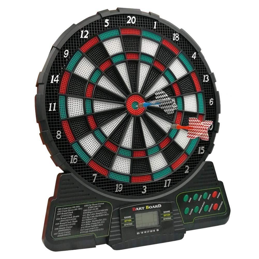 Dartboard Profi Dartspiel Dartautomat LCD Anzeige,Mit Sprachansagen Und Automatischem Scoring mooderff Elektronische Dartscheibe Dartboard Coventry Mit 6 Dartpfeilen Und 159 Soft-Tipps