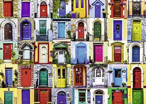 Ravensburger Doors of the World 1000 Piece Jigsaw Puzzle for Adults - Every piece is unique, Softclick technology Means Pieces Fit Together Perfectly (Ravensburger Jigsaw Puzzles Christmas)