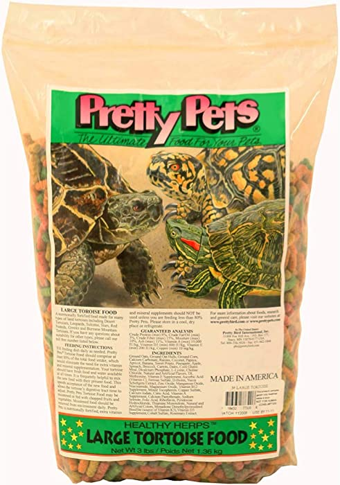 Top 9 Pretty Pets Large Tortoise Food