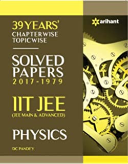 39 Years' Chapterwise Topicwise Solved Papers 2017-1979 IIT
