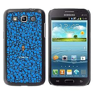 A-type Arte & diseño plástico duro Fundas Cover Cubre Hard Case Cover para Samsung Galaxy Win I8550 (Lindo - Ser Diferente)