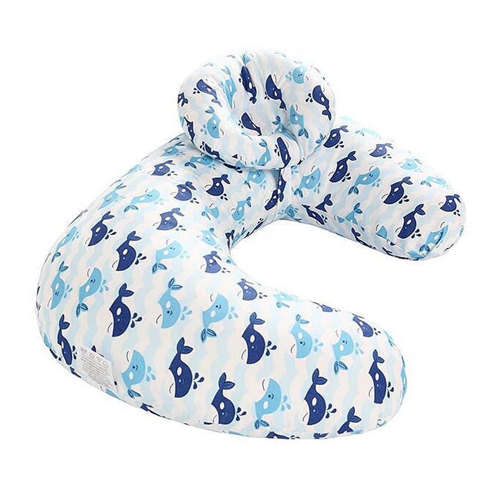 Color 4 Dear Tomorrow Baby Breastfeeding Nursing Pillow and Positioner Machine Washable U Shape Nursing and Infant Support Pillow Bonus Head Positioner